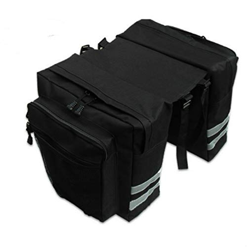 MMI-LX CXYUAN Mochila para bicicleta de montaña, estante trasero, bolsa de maletero, duradera y resistente, esencial para viajes (color: B)