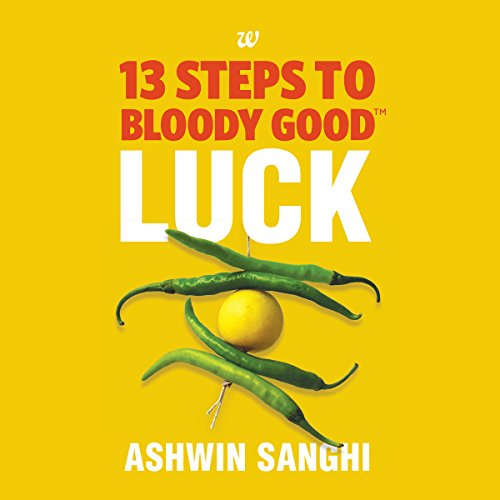 13 Steps to Bloody Good Luck audiobook cover art