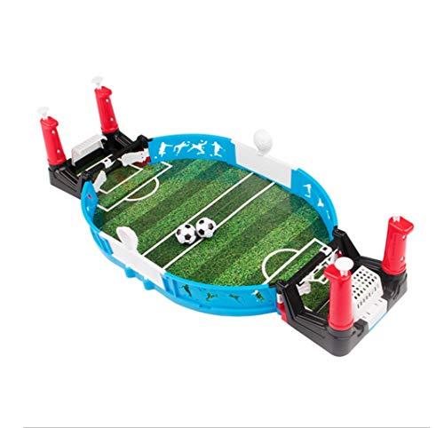 Tafelvoetbal, Ouder-kind interactieve tafelvoetbal, Twee mensen spelen tegen voetbal, Multiplayer indoor game console, Desktop interactieve wil spel, Afmetingen: 45 * 22.5 * 11cm