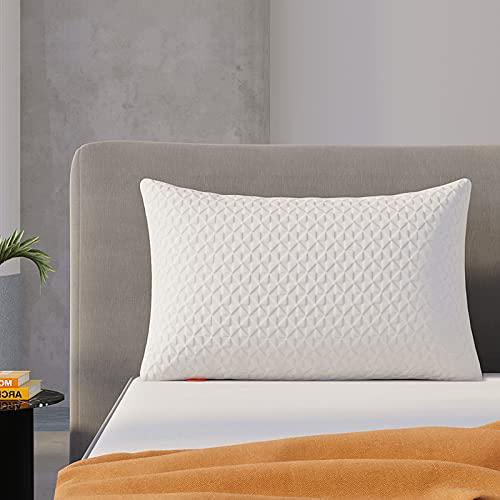 Bed Pillows, Sweetnight Cooling Shredded Memory Foam Pillows for...