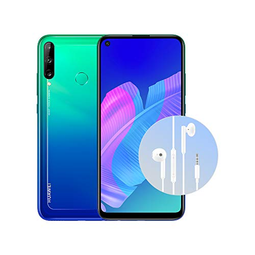 "HUAWEI P40 Lite E con Cuffia AM115, Display FullView da 6.39"", Kirin 710F Octa Core, Blue, Versione Italiana"