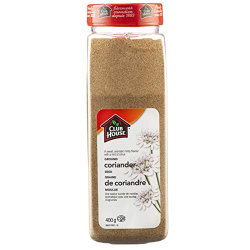 Club House, Quality Natural Herbs & Spices, Ground Coriander, 400g