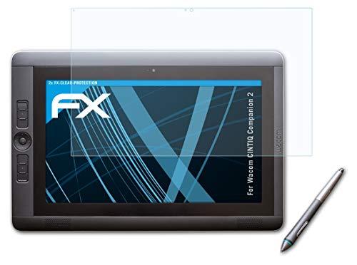 atFoliX Protezione Pellicola dello Schermo Compatibile con Wacom CINTIQ Companion 2 Pellicola Protettiva, Ultra-Trasparente FX Proteggi Schermo (2X)