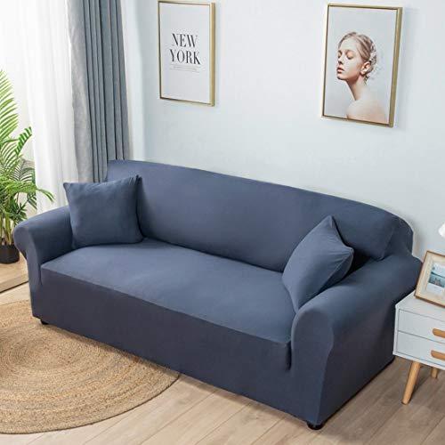 Verve Jelly Stretch Sofa Schonbezug, Soft Velvet Sofabezug, Rutschfester Sofabezug, Möbelschutz Rutschfester waschbarer Sofa Schonbezug Möbelschutz mit elastischem Boden