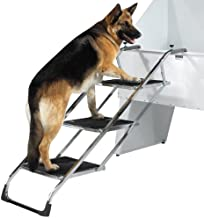 Master Equipment PetEdge Grooming Tub Pet Stairs – Non-Skid Stairs Allow Pets to Climb to Tub or Grooming Table Surface