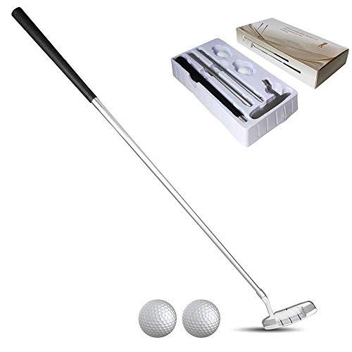 Nicololfle Putter De Golf,Alliage De Zinc Portable Golf...