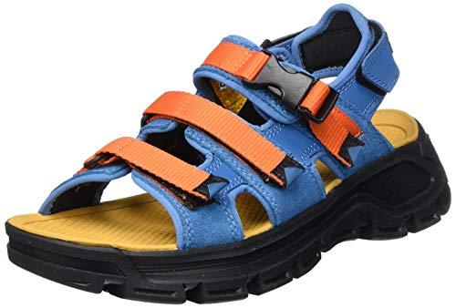 Cat Footwear Herren Progressor Buckle Römersandalen Sandalen, mehrfarbig (Faience 18-4232/Red orange 17-1464 Multi), 44 EU
