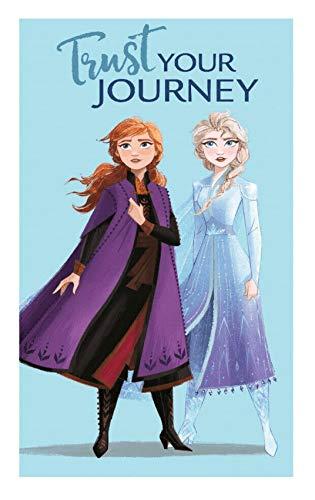 Toalla de mano para niños, toalla de invitados, toalla de cara de algodón, Frozen Elsa y Anna regalo para niñas (FFrozen 02)