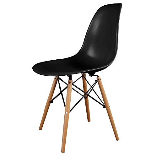 Stoelen en krukken Plastic Dining Chair, Chic Cafe Side Chair for Indoor, Modern Plastic Stoel met rugleuning Bar Stoel met stevige kunststof constructie Cafe Chair Barkruk Set Make-up Chair (Kleur: Z