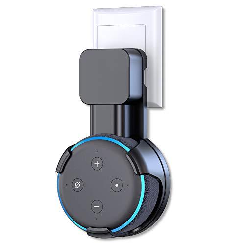 Bovon - Supporto da parete per Echo Dot di terza generazione, una soluzione salvaspazio per gli altoparlanti Smart Home, accessori intelligenti con cordino, per cucina, camera da letto, bagno