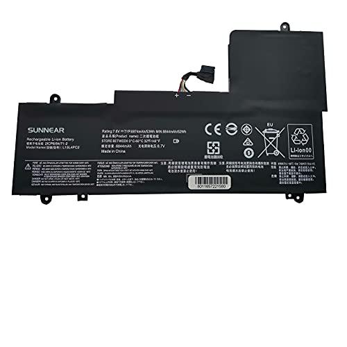 K KYUER 53Wh L15L4PC2 L15M4PC2 Laptop Akku Replacement für Lenovo Ideapad Yoga 710-14IKB 80V4002HGE 710-14ISK 80TY0060PB 710-15IKB 80V5 710-15ISK 80U0 5B10K90778 5B10K90802 Convertible Notebook