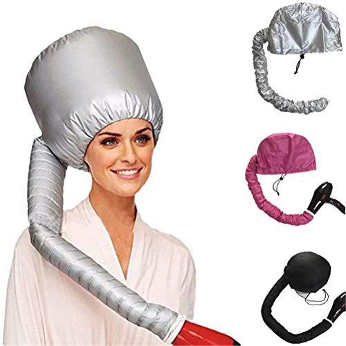 Big Bargain Store le bouclage et le conditionnement en profondeur s'adapte à toutes les tailles de tête et de cheveux le style capuche réglable pour sèche-cheveux à main avec poignée extensible et