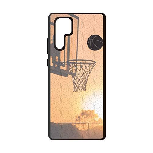 Schutzhülle Basketballkorb kompatibel mit Huawei P30 Pro Schutzhülle aus TPU-Kunststoff. rutschfest, schützt vor Stößen und Stürzen.