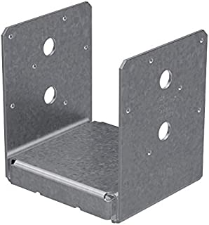 Simpson ABU66SS 6 x 6 Adjustable Post Base, Type 316 Stainless Steel (6 Count)