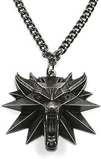 La codicia tierra The Witcher 3: Wild Hunt medallón colgante cadena collar