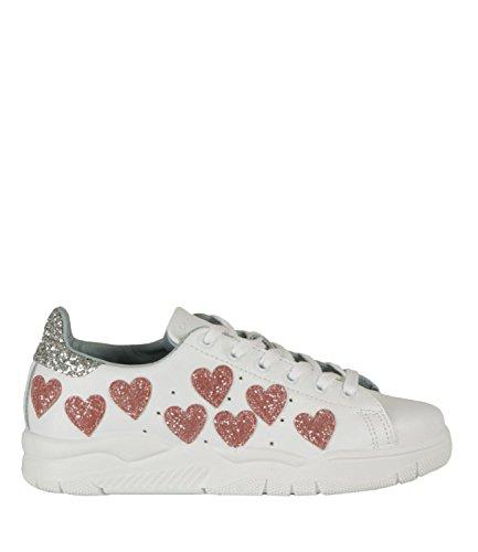 Chiara Ferragni Sneakers Roger Hearts Bianco Donna MOD. CF1915 36