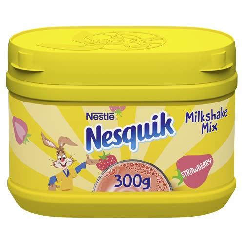 Nesquik Fresa en polvo, 300 g (paquete de 10)
