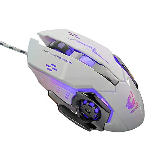 Ziyou Lang V5 Wired Computer Mouse Opto-Electronic Gaming Mice Mechanical Rat Wrangler Mouse Game Desktop Machine Voice Version