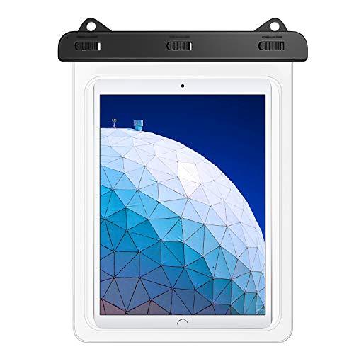 MoKo wasserdichte Hülle, Staubdicht Tablet Tasche für iPad 10.2 2019/9.7 2018, iPad Pro 10.5/9.7, iPad Air 3, iPad 4, Samsung Tab S4/S3/S2/Tab A 9.7, Galaxy Tab E 9.6 Tablet bis zu 10.5