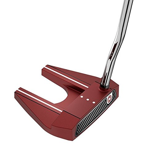 Odyssey 2018 Red Putters, #7, Winn AVS Mid-Size Pistol, Right Hand, 34