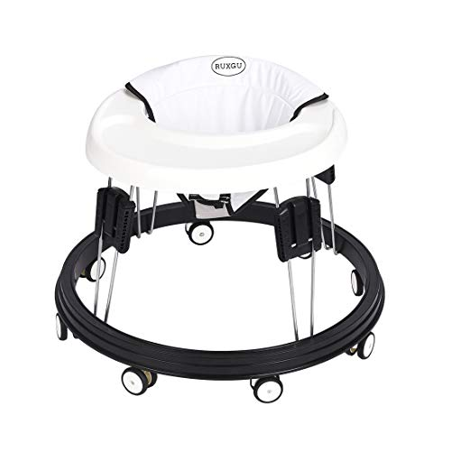 LANGYI Foldable Activity Baby Walker for Boys and Girls, Multi-Function Anti-Rollover Toddler...