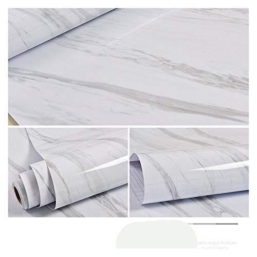 WHYBH HYCSP Selbstklebende Tapete Marmor Aufkleber Wasserdicht Hitzebeständige Küchenarbeitsplatten Tischmöbel Schrank-Wand-Papier (Color : DLS 03, Size : 3m x 40cm)