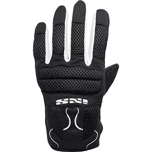 IXS Motorradhandschuhe kurz Motorrad Handschuh X- Handschuhe Samur Evo schwarz/weiß 5XL, Herren, Tourer, Sommer, Polyester