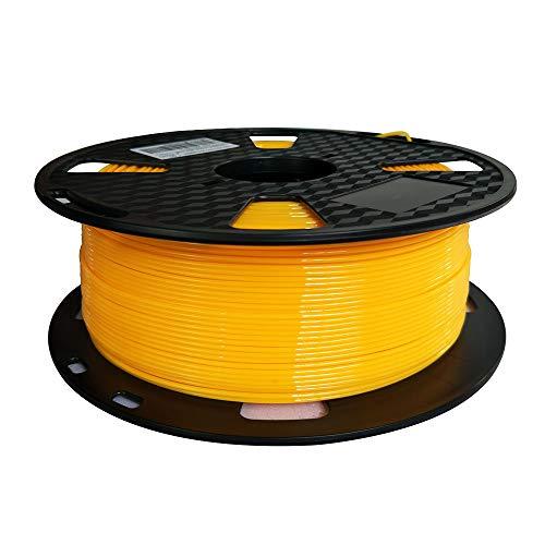 Yellow PETG Filament 1.75mm 1KG 3D Printer Filament 2.2lbs Spool 3D Printing Materials Fit Most FDM Printer