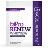BiPro Renew to-Go 100% Whey Isolate Protein Powder, Chocolate, 12 Single-Serve Packets - Dietician...