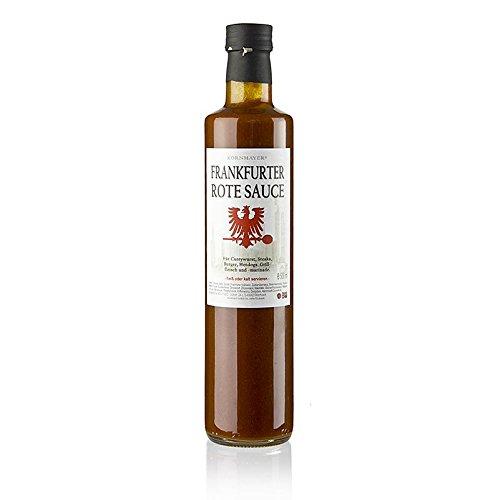 Kornmayer Frankfurter rote Sauce, Currysauce mit Apfelwein, 500 ml