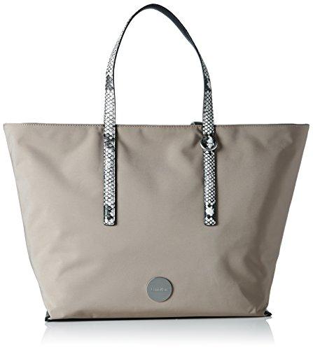 Calvin Klein ED1TH Large Tote, Bolsa para Mujer, Beige (Desert Taupe), 15x33x54 cm (b x h x t)