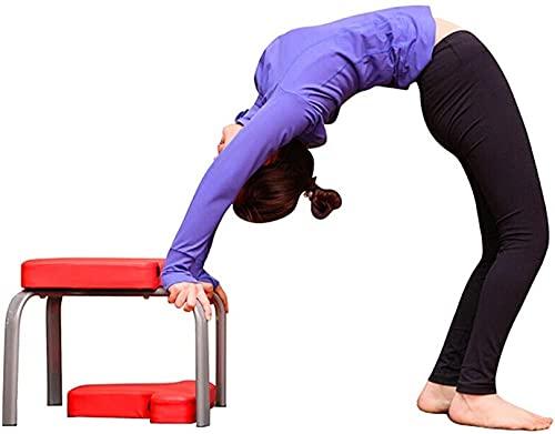 Yogastol Yoga Huvudstativ Bänk Inverterad stol Multifunktion Yoga Hjälpträningspallstol (Färg:...