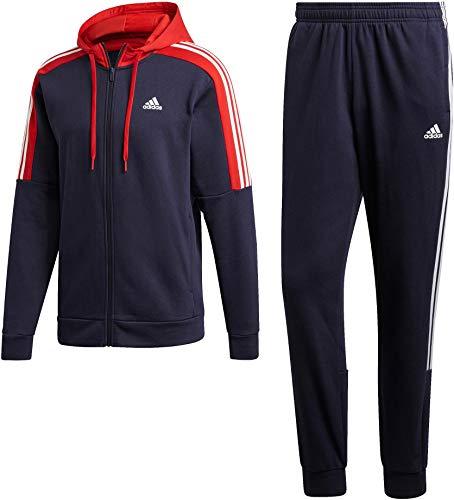 adidas Herren Co Energize Tracksuit Trainingsanzug, Legink/Scarle/Legink, L