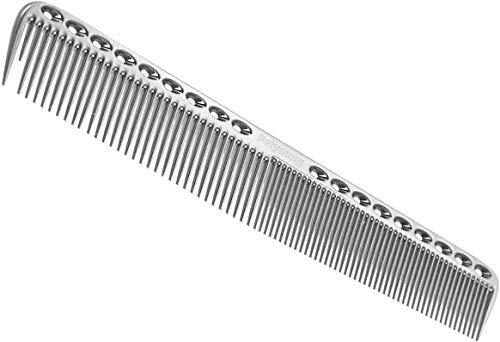Peinetas profesionales, peine de corte de metal, peine de peluquería, peine maestro de peluquería para corte y peinado