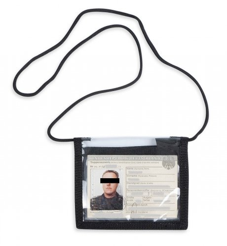 Tasmanian Tiger ID Holder Black Schwarz
