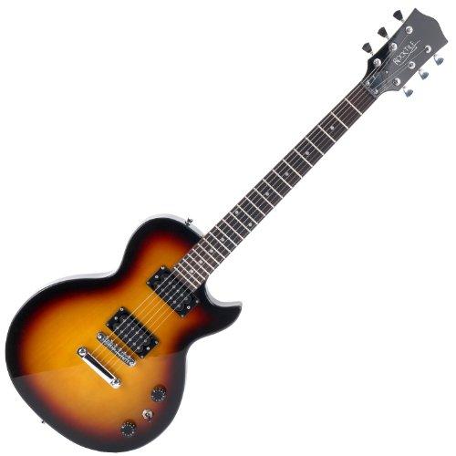 Rocktile LP-100 SB E-Gitarre (Korpus: Linde, Palisander Griffbrett, Finish: Sunburst)