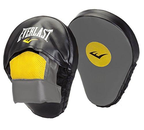 Everlast Mitaines Mantis Punch Mitts - Bolsa de guantes de boxeo, color negro