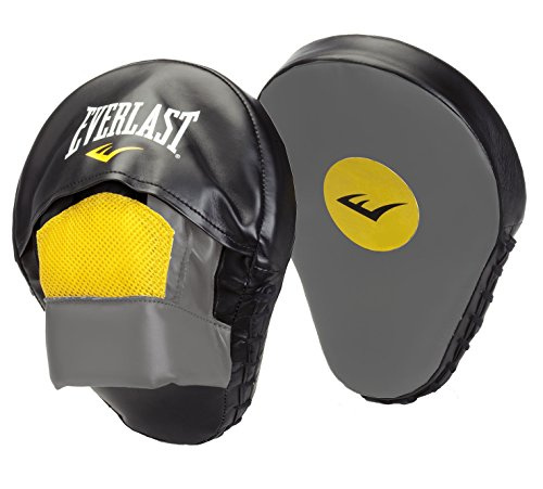 Everlast Mitaines Mantis Punch Mitts - Bolsa de guantes de boxeo, color negro