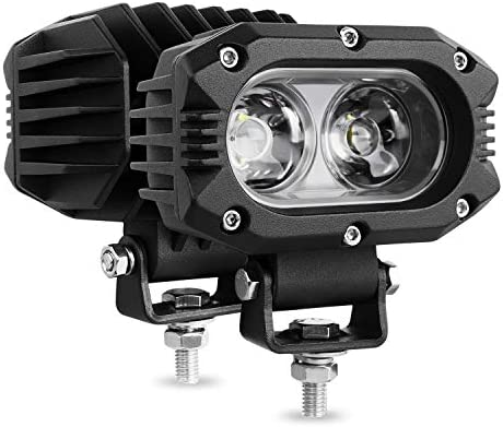 Autofeel LED pods Light 2PCS 4 Inch 80W Flood Light Bars Single Row 8000LM Off Road Driving product image