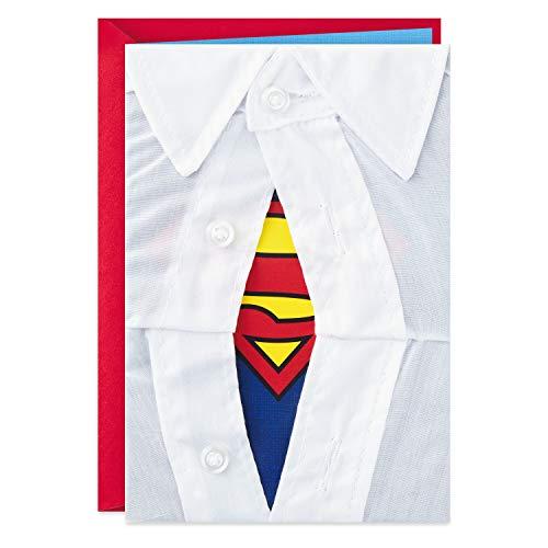 Product Image 1: Hallmark Signature Birthday Card for Him (Superman Silhouette)