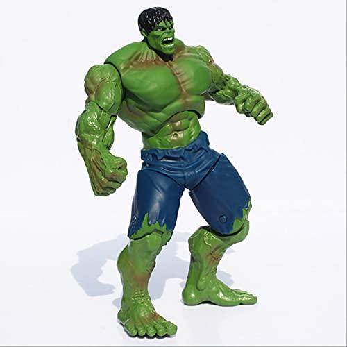 25cm Movie Super Hero The Hulk Action Figure Pvc Red & Green Model Toys Gift Green Hulk
