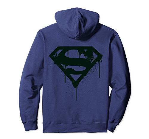 US DC Superman + Logo Doomsday Graff Sudadera con Capucha