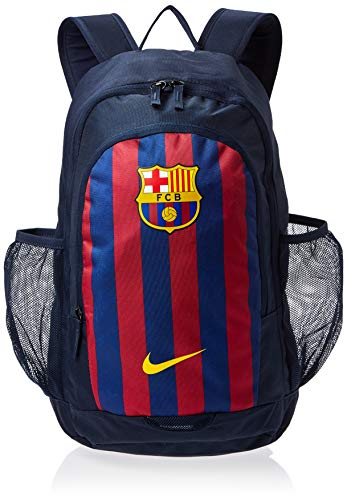 Nike Mochila Stadium FC Barcelona Bkpk, Unisex Adultos, color Obsidian/Deep Royal