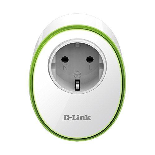D-Link dsp-w115–Prise intelligente (802.11N, Wi-Fi Protected Setup, LED) Blanc, Compatible avec Google...