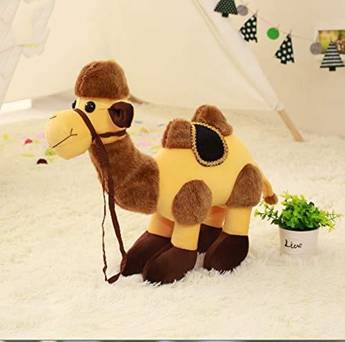Cartoon Pluche Kameel Speelgoed, Knuffel Kamelen Poppen, Verjaardagscadeau Speelgoed Voor Kinderen Kinderen 35Cm (Dubbele Bult)