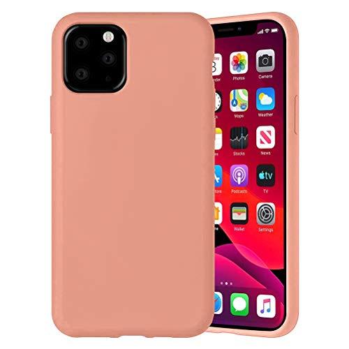 Yoedge Color Sólido Funda para Xiaomi Mi A2 Lite/Xiaomi Redmi 6 Pro 5.84″ Sencillez Carcasa de Silicona Case Protectora de TPU Suave Protección Cover para Xiaomi A2 Lite Teléfono Fundas,Naranja