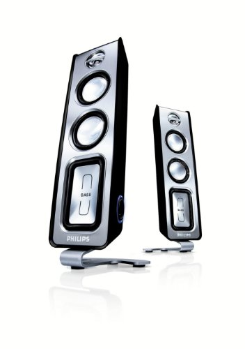 Philips MMS321 2.0 End Speaker System - 60W