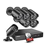 ANNKE 8-Channel 1080P Security Camera System 1080N Digital Video