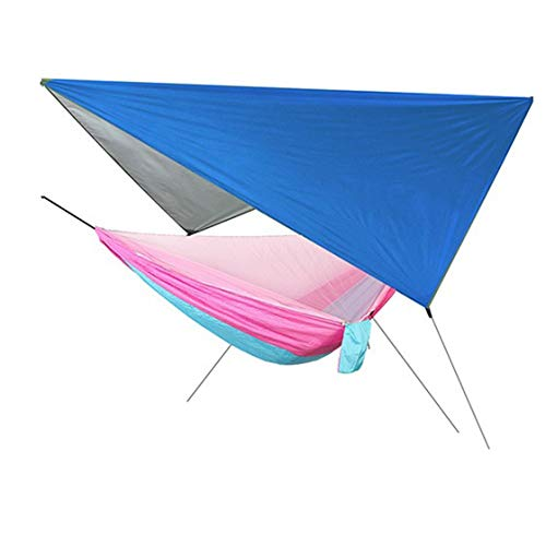Jessicadaphne Outdoor Automatic Speed-Open Mosquito Net Hammock Canopy Set Waterproof Nylon Polyester Mesh Anti-Mosquito