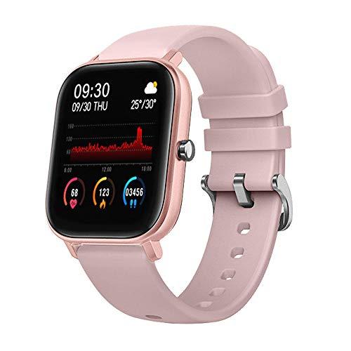 TYUI Smart Watch Fitness Tracker con monitor de frecuencia cardíaca IPX7 resistente al agua, podómetro, control de música